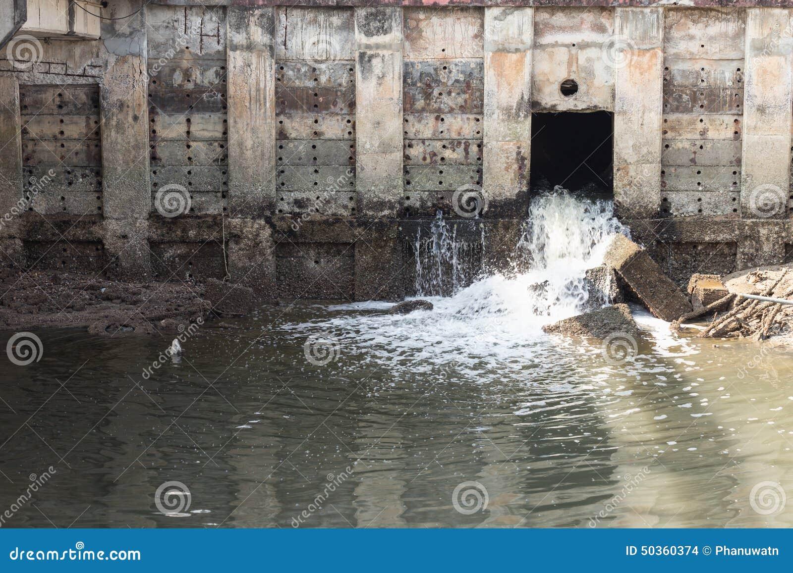 Tubo di scarico dell'acqua immagine stock   immagine: 31725121