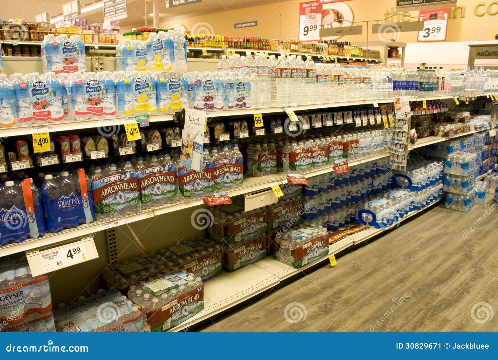 Acqua di bottiglia