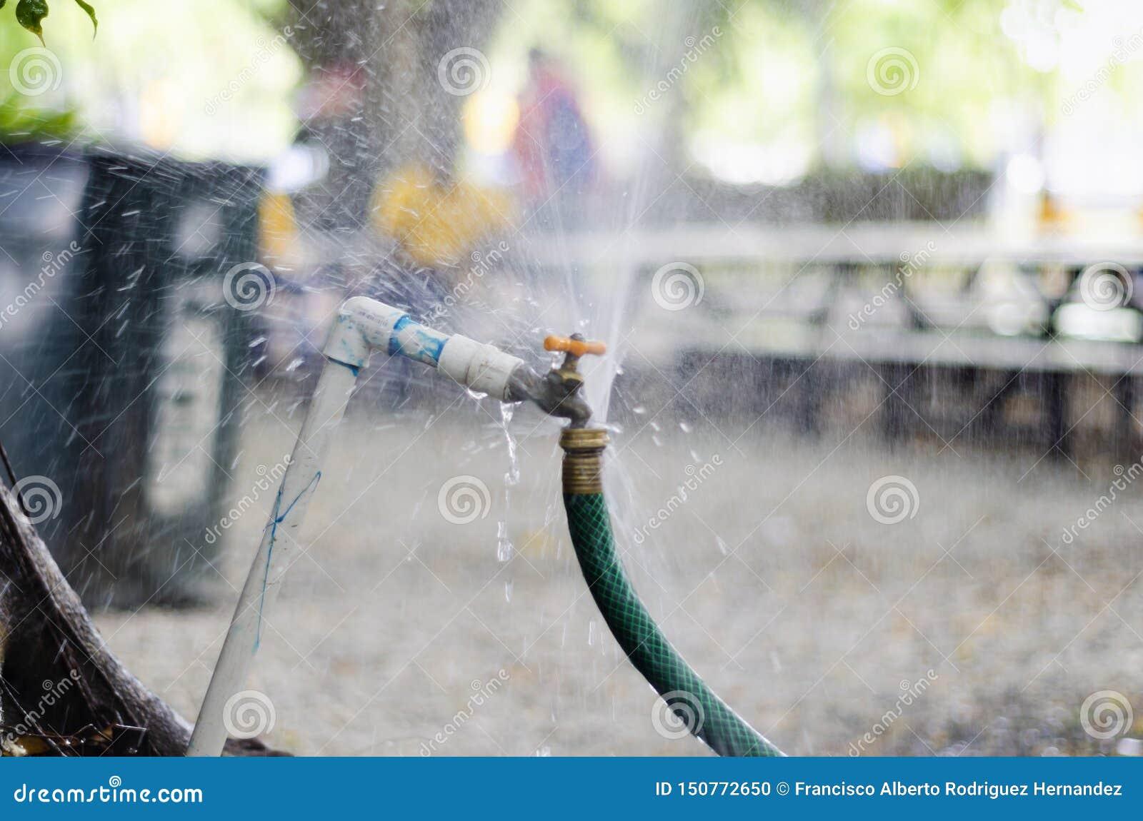 Acque di rifiuto del rubinetto del giardino raffreddando le acque di rifiuto del rubinetto del giardino raffreddando l iarda rela