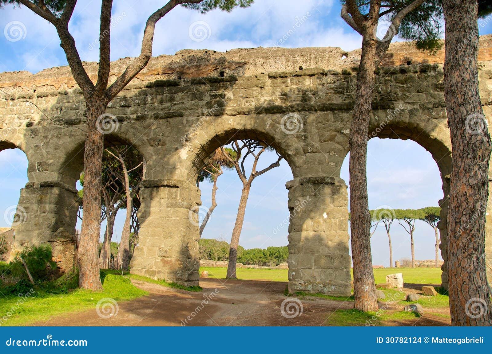 Download Acquedotto Appio Claudio, Rome, Italy Stock Photo - Image of italy, construction: 30782124