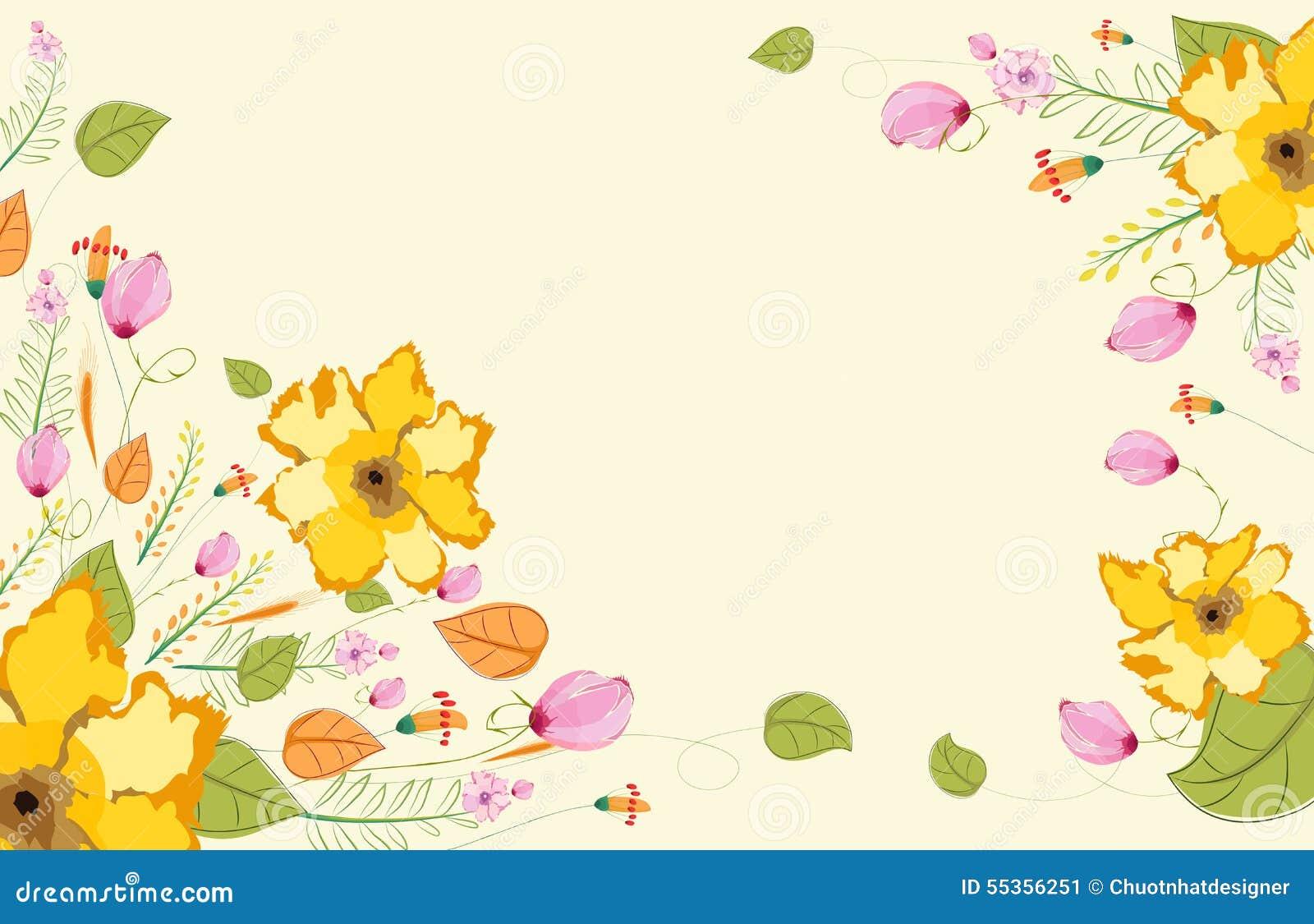 Acquerello floreale