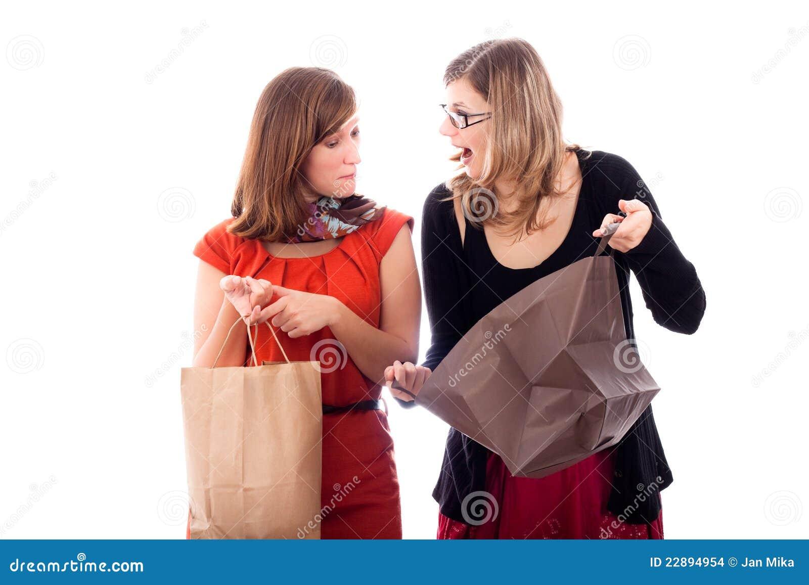 Acquisto emozionante delle donne