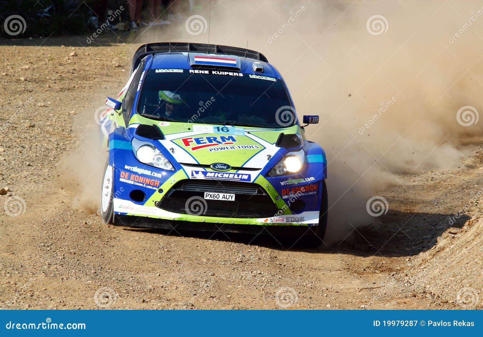 Acrópolis de la reunión de 2011 WRC - fiesta RS de Ford