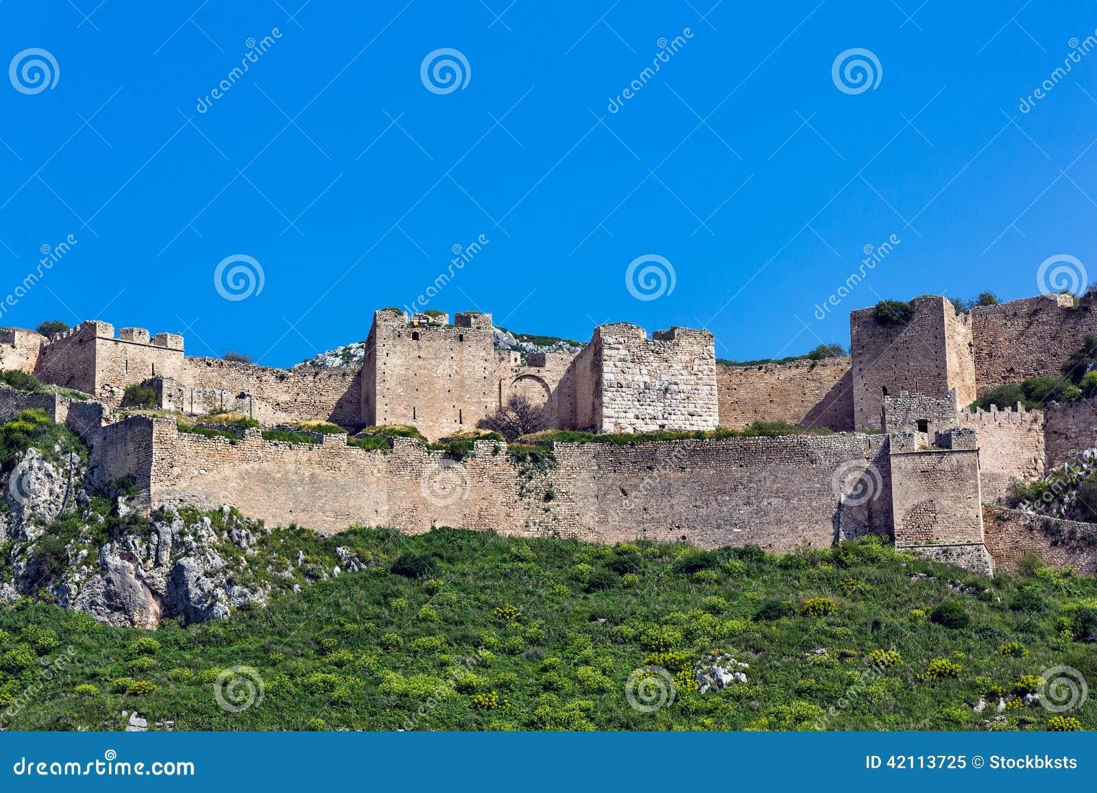 Acrocorinth Peloponesse Stock Photo - Image: 42113725