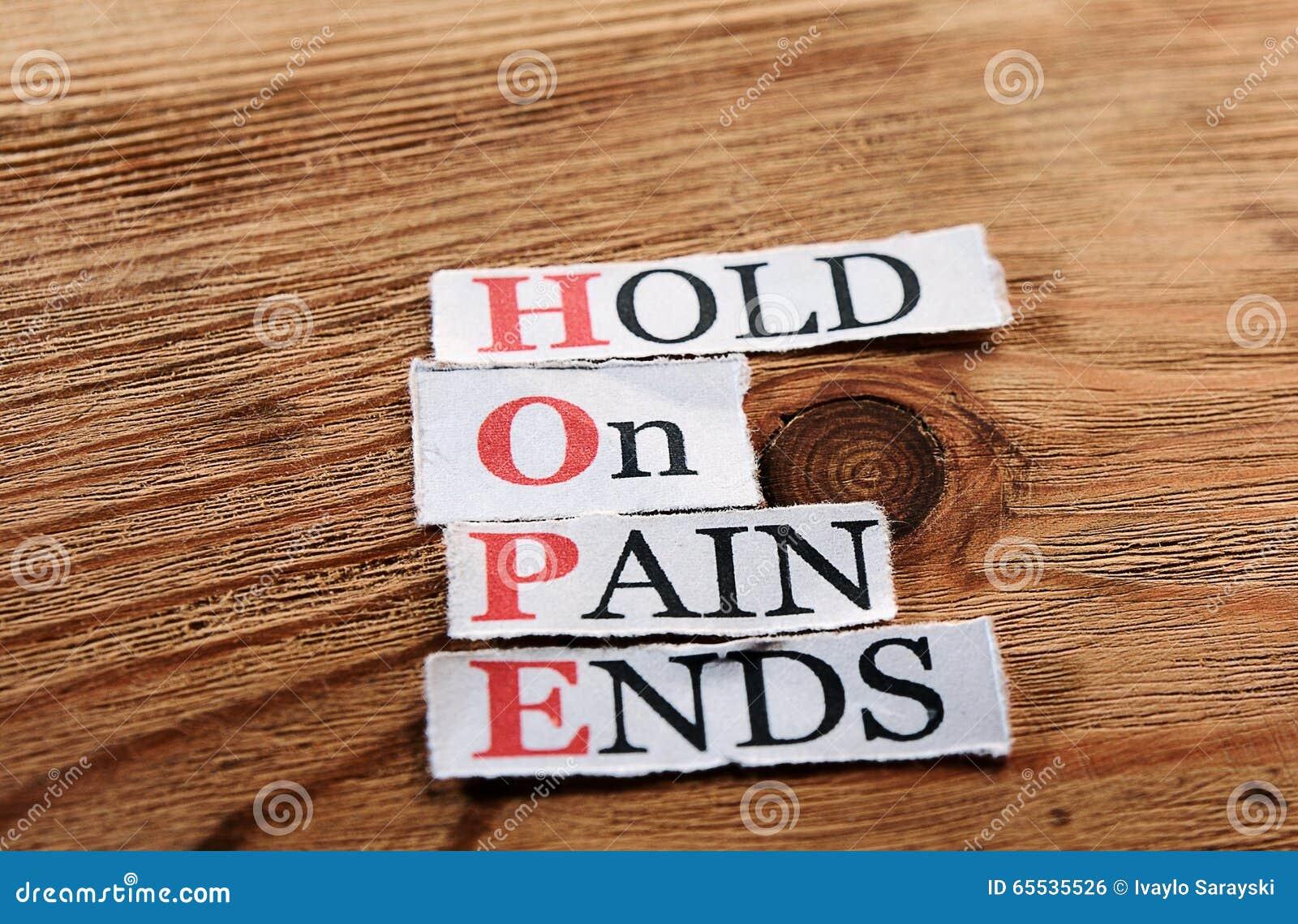 Acronimo di speranza