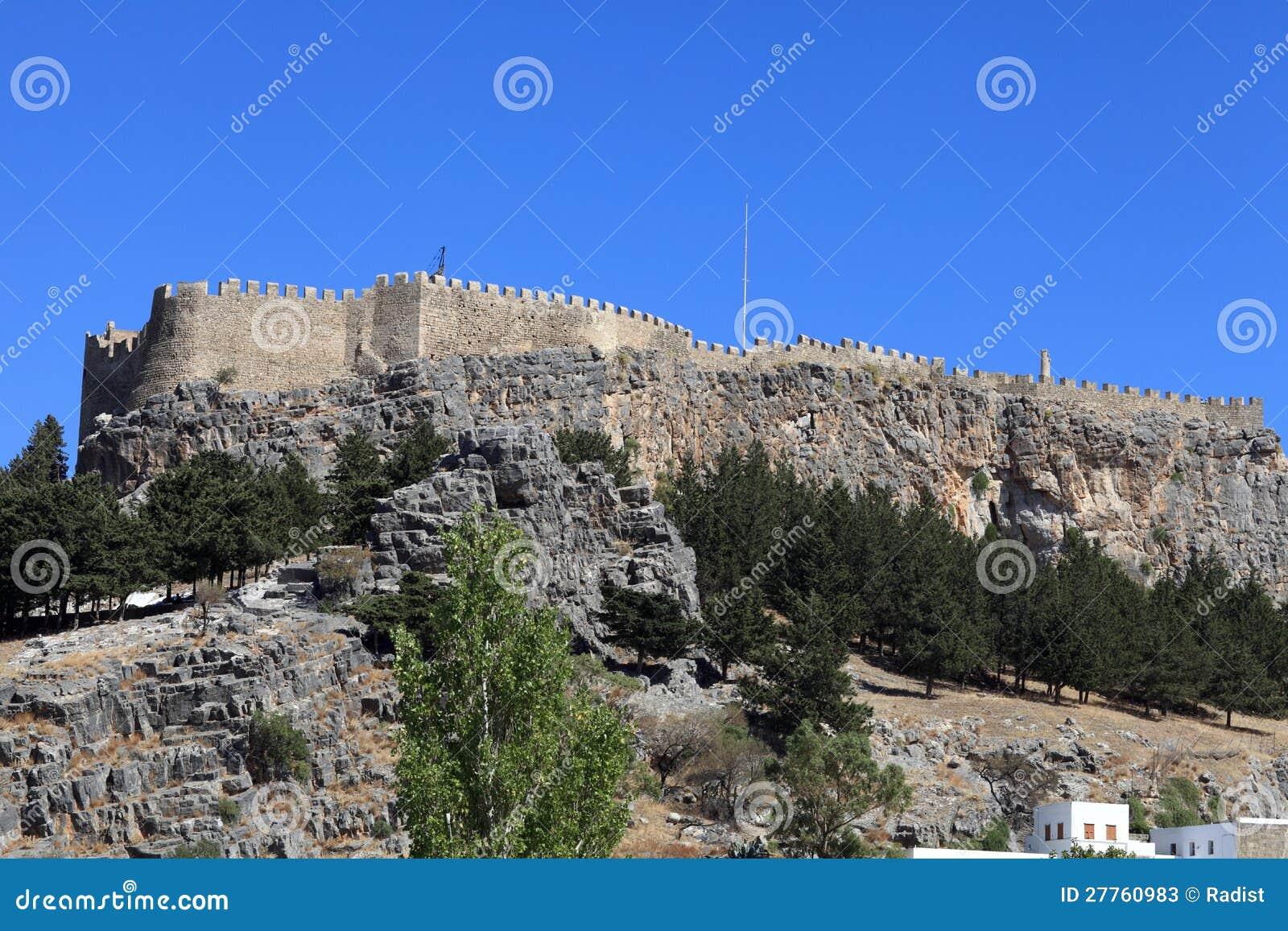 Acropole antique de Lindos