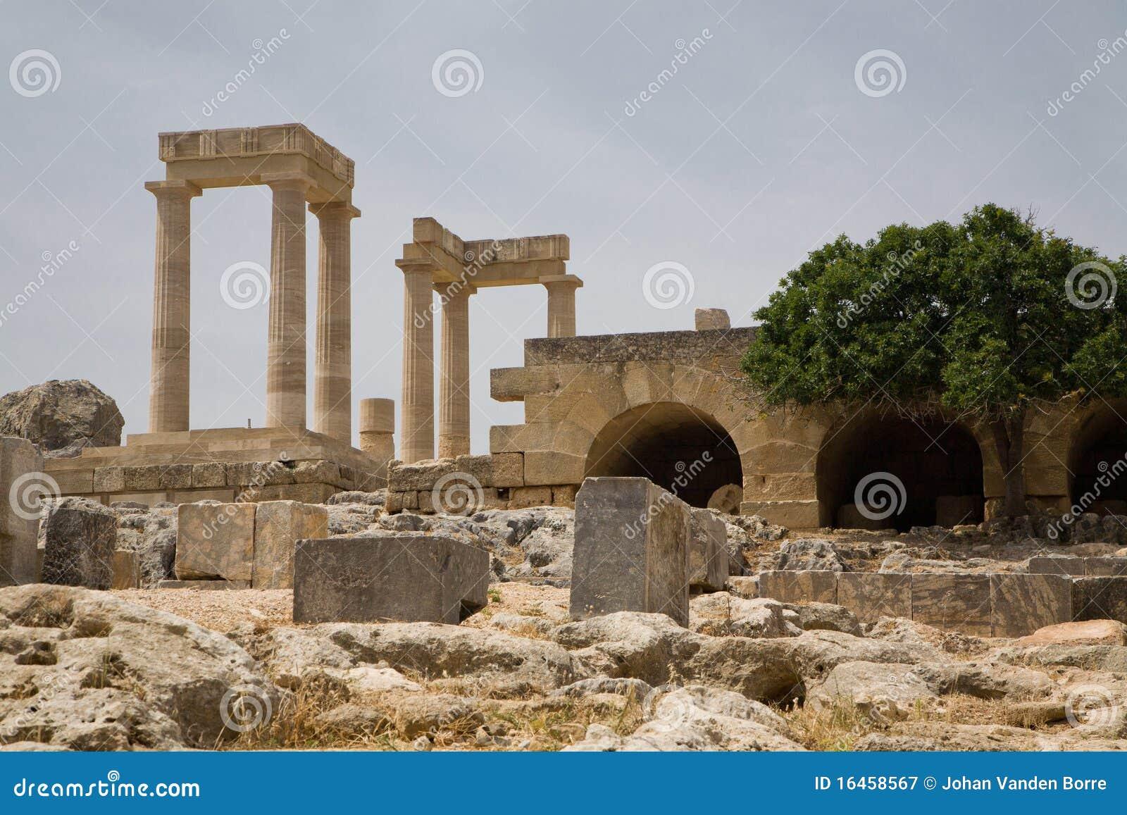Acropole Grèce de Lindos