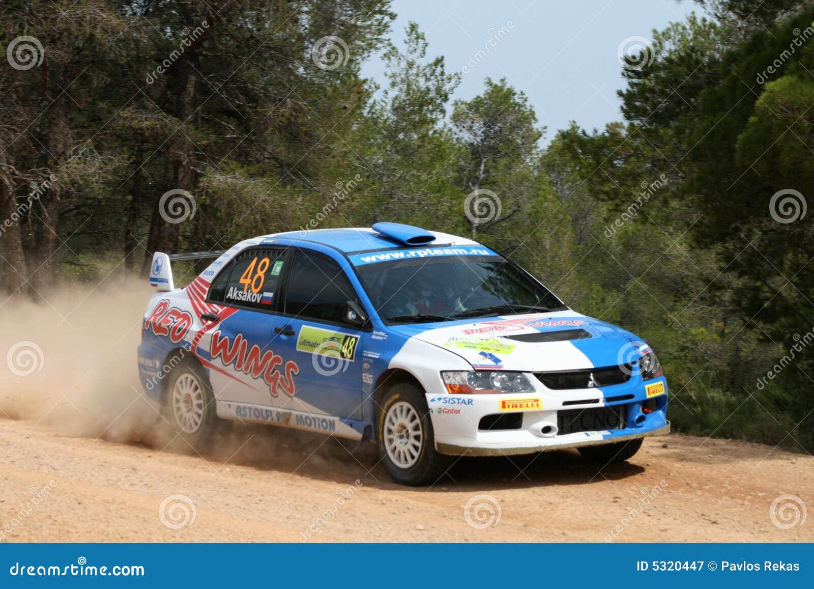 Download Acropoli di raduno di WRC fotografia editoriale. Immagine di veloce - 5320447