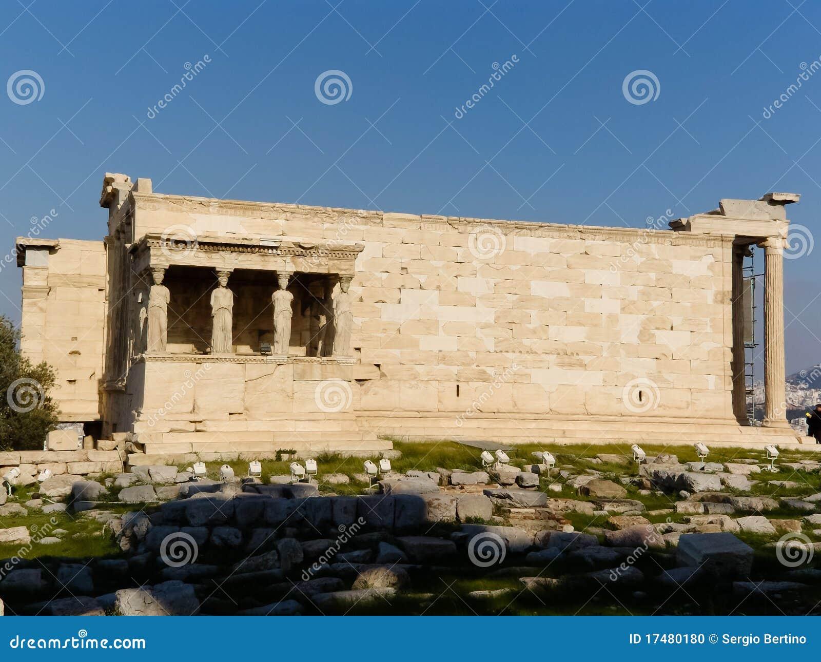 Temple Of Athena Parthenos Stock Photo - Image: 17480180
