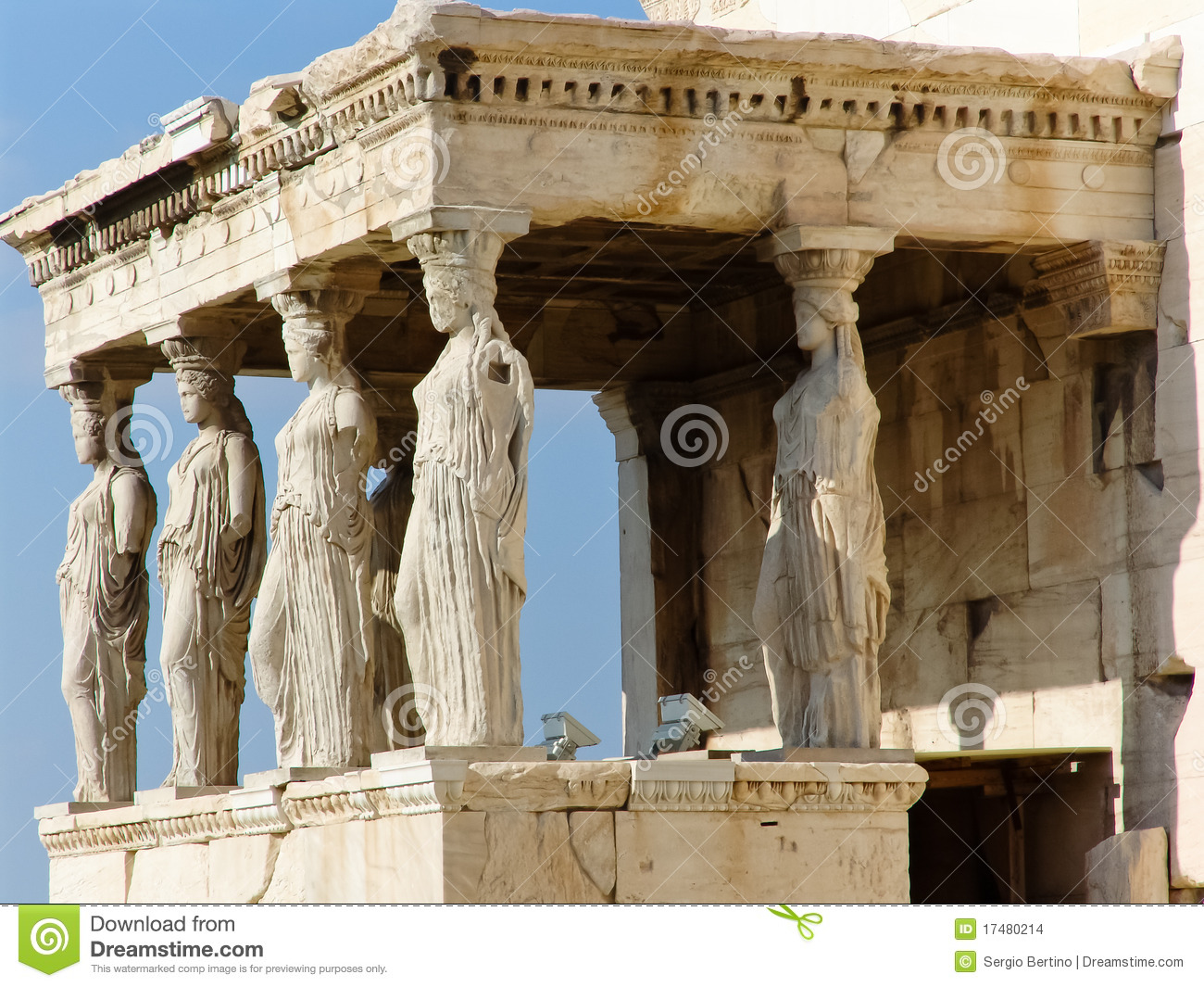 Parthenon Temple In Greece