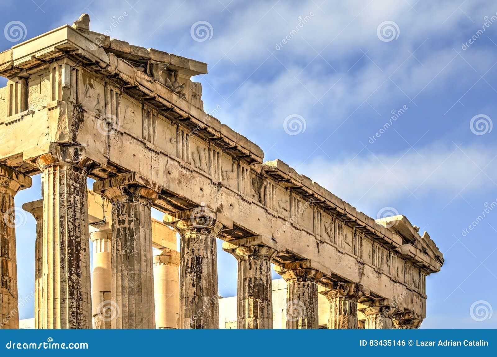 The Acropolis Parthenon in Athens, Greece