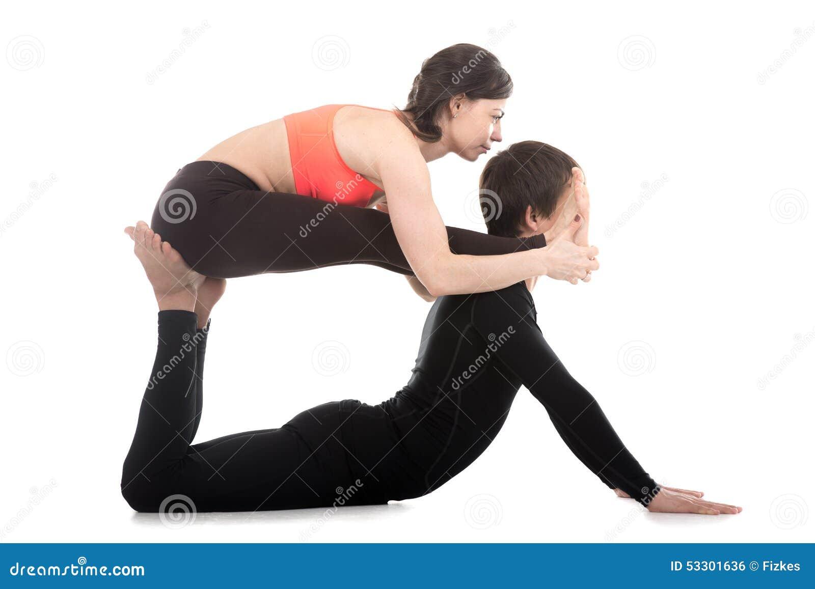 Favorito Pose Yoga In Coppia DB78 » Regardsdefemmes TK48