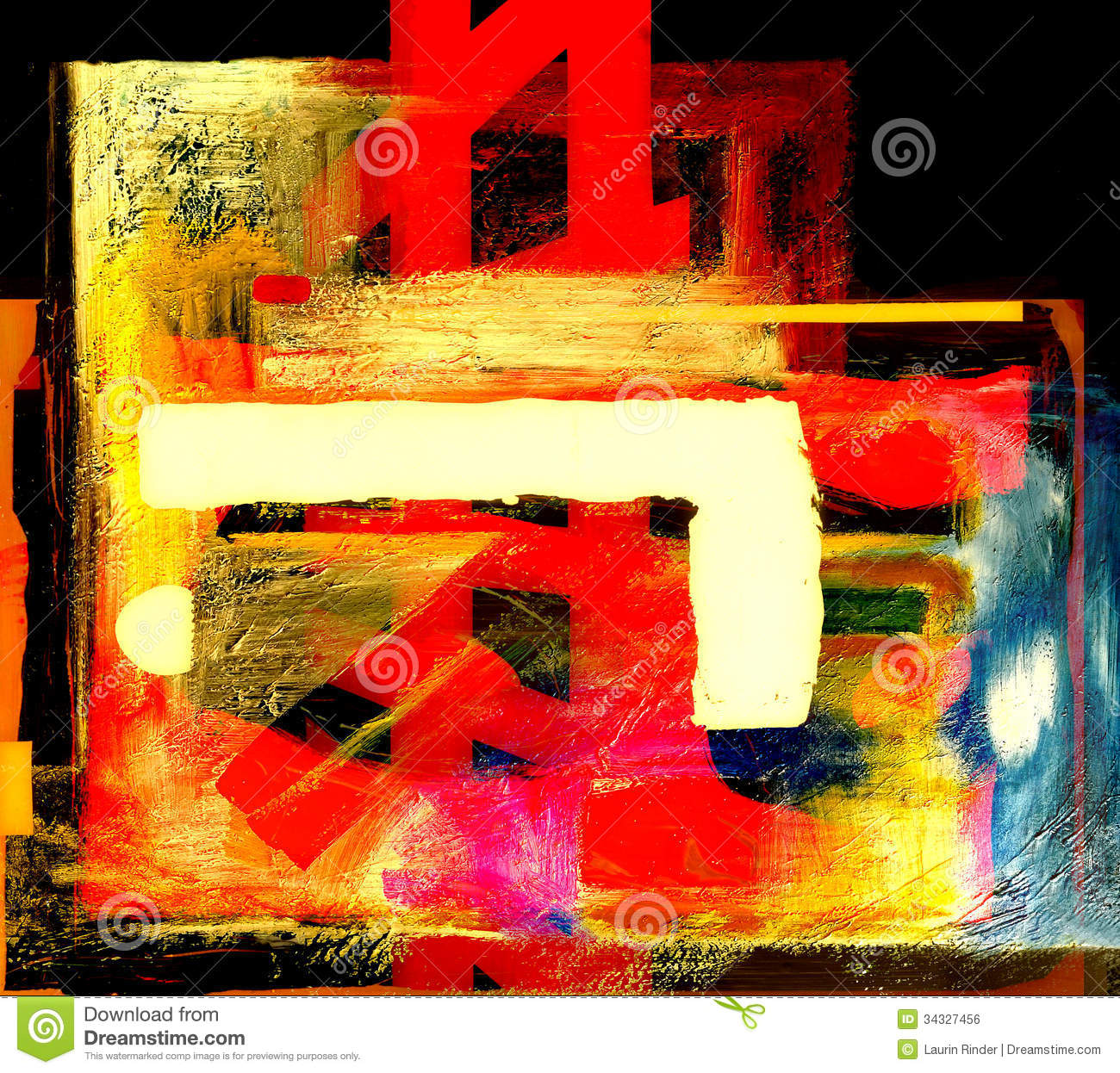 Acrylic on glass royalty free stock image image 34327456 for Nice acrylic paintings