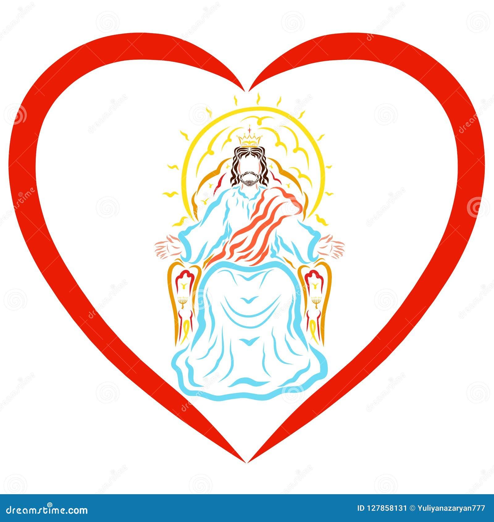 Acte de Lord Jesus au coeur, bénédiction du roi merveilleux