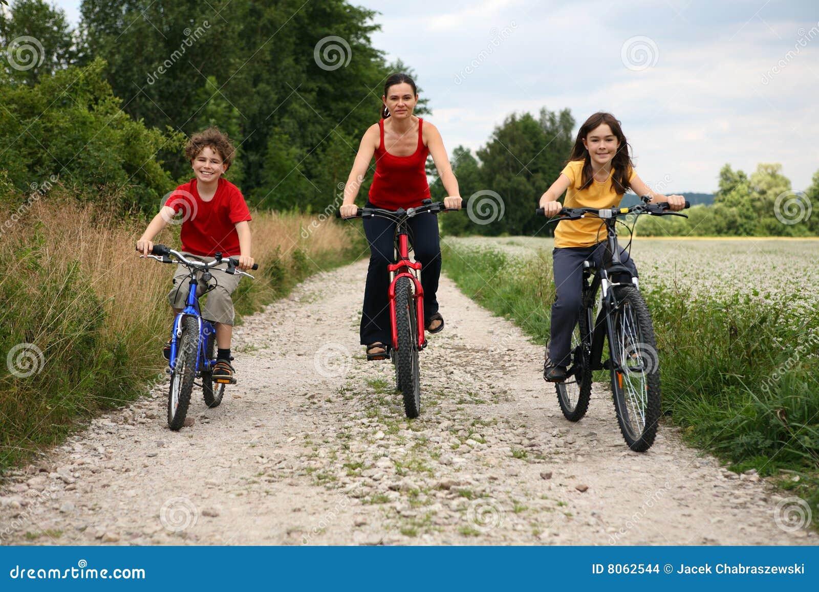 Actieve familie