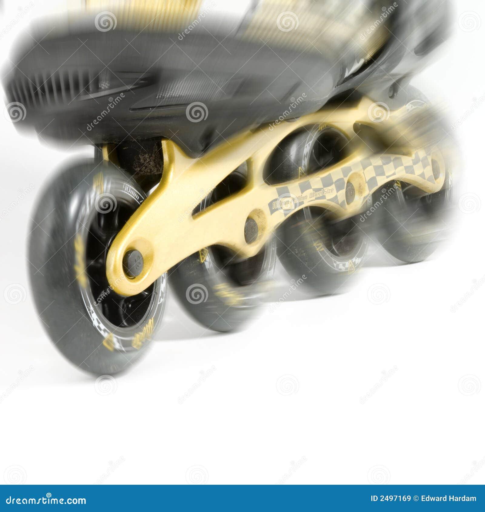 Action de patin de Roler image stock. Image du mouvement
