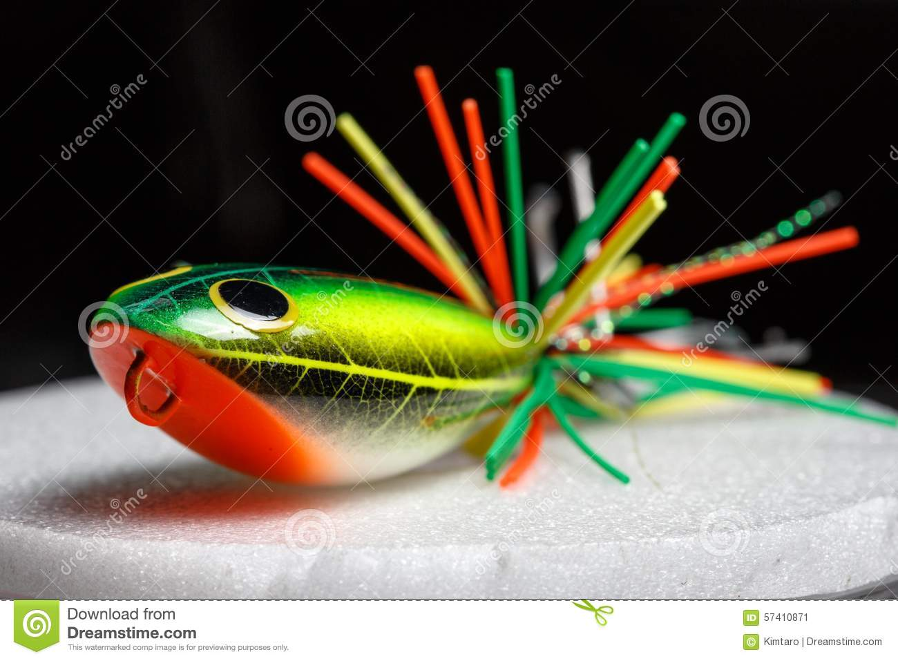 Action Lure For Sport Fishing Game Stock Image - Image of ...