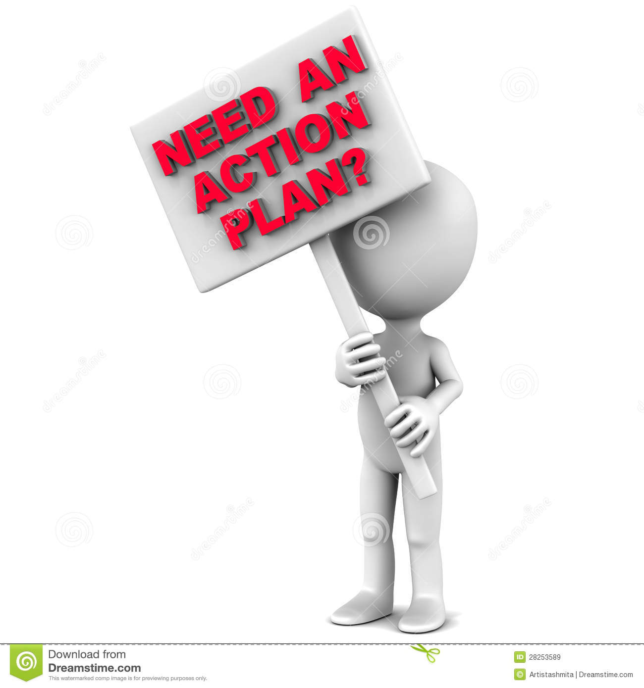 Action Plan Royalty Free Stock Images - Image: 28253589