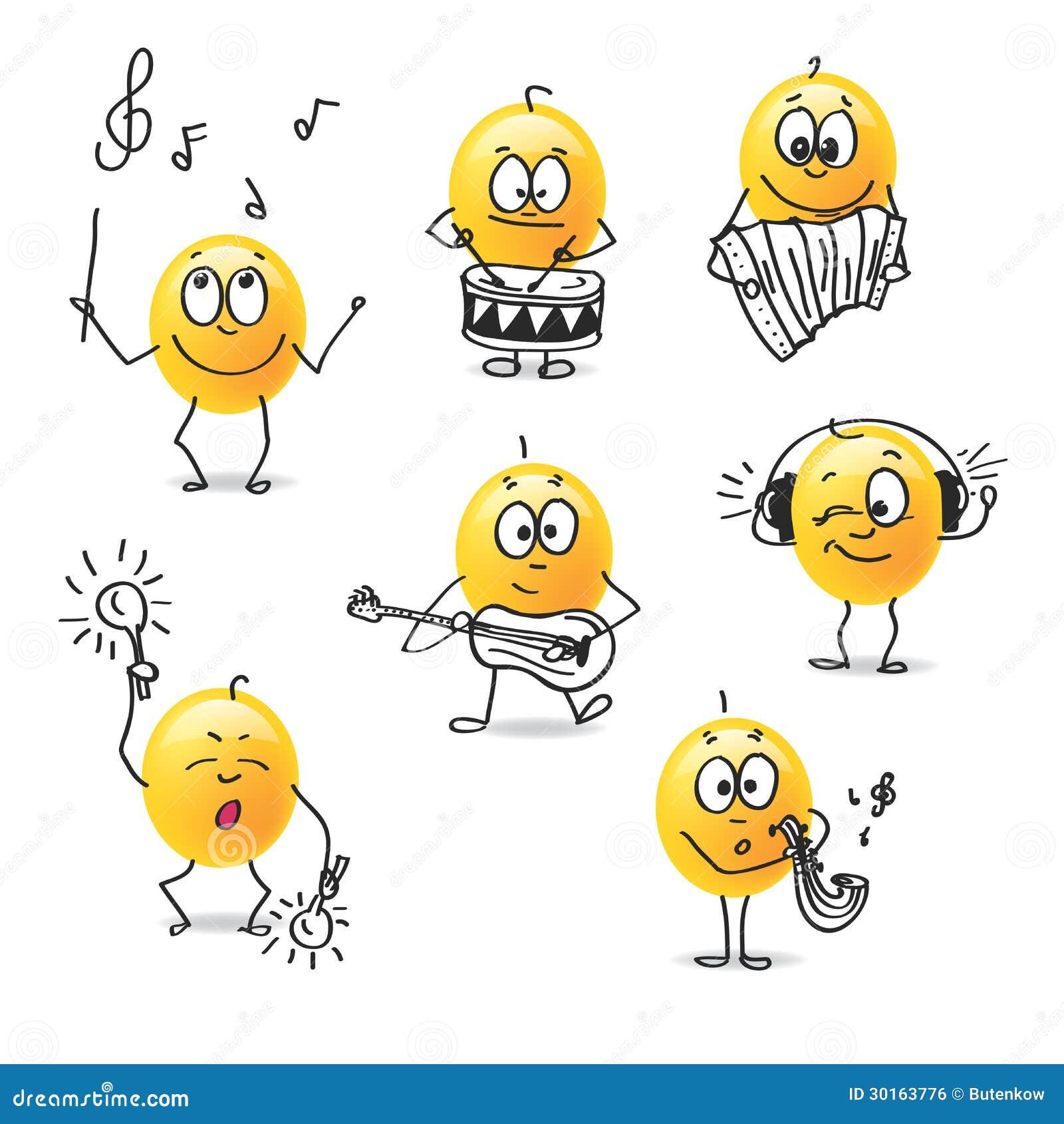 De Musique Smiley Stock Illustrations Vecteurs Clipart 1 347 Stock Illustrations