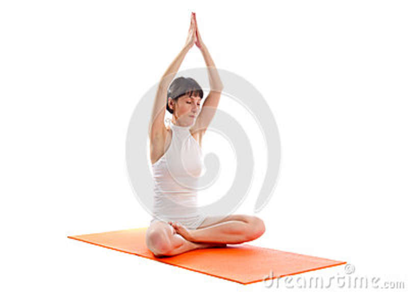 Actitud fácil de la yoga