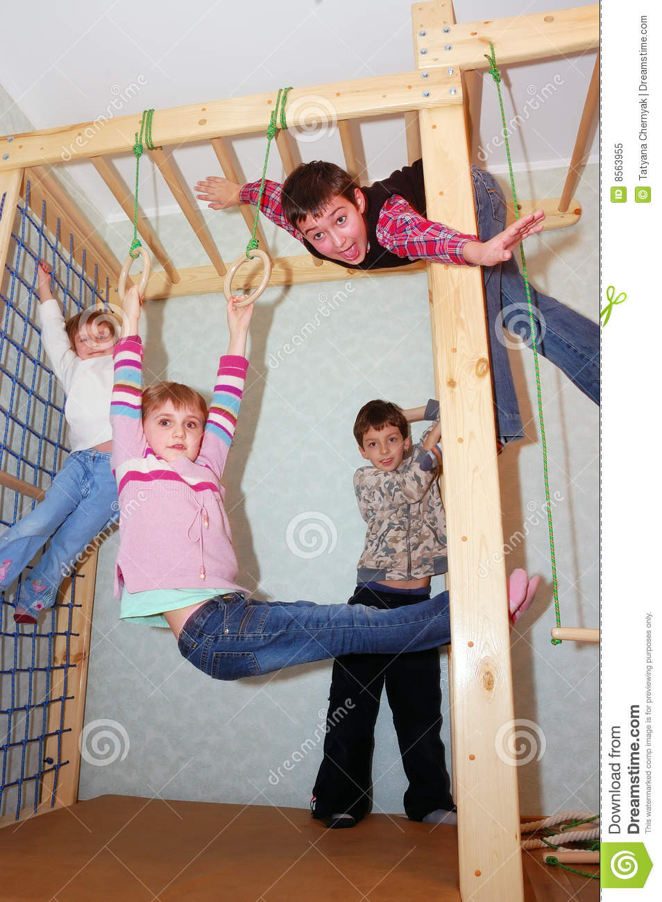 Active kids stock image. image of game group ages equipment 8563955