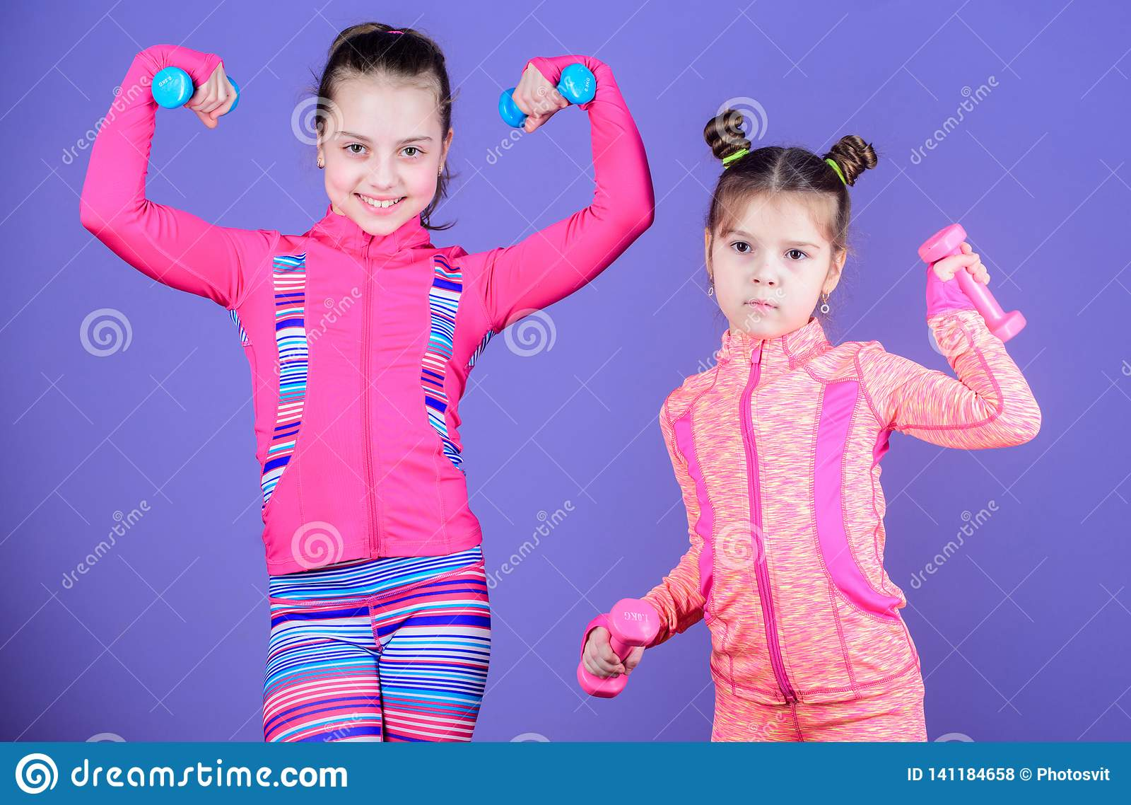 Cute Weight Barbell Sports Kids Dumbbell Gym Training for Home Kids Children
