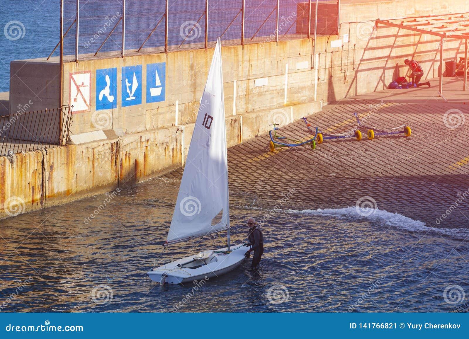 Actividades en el agua, navegación Barco de navegación de la clase del finlandés