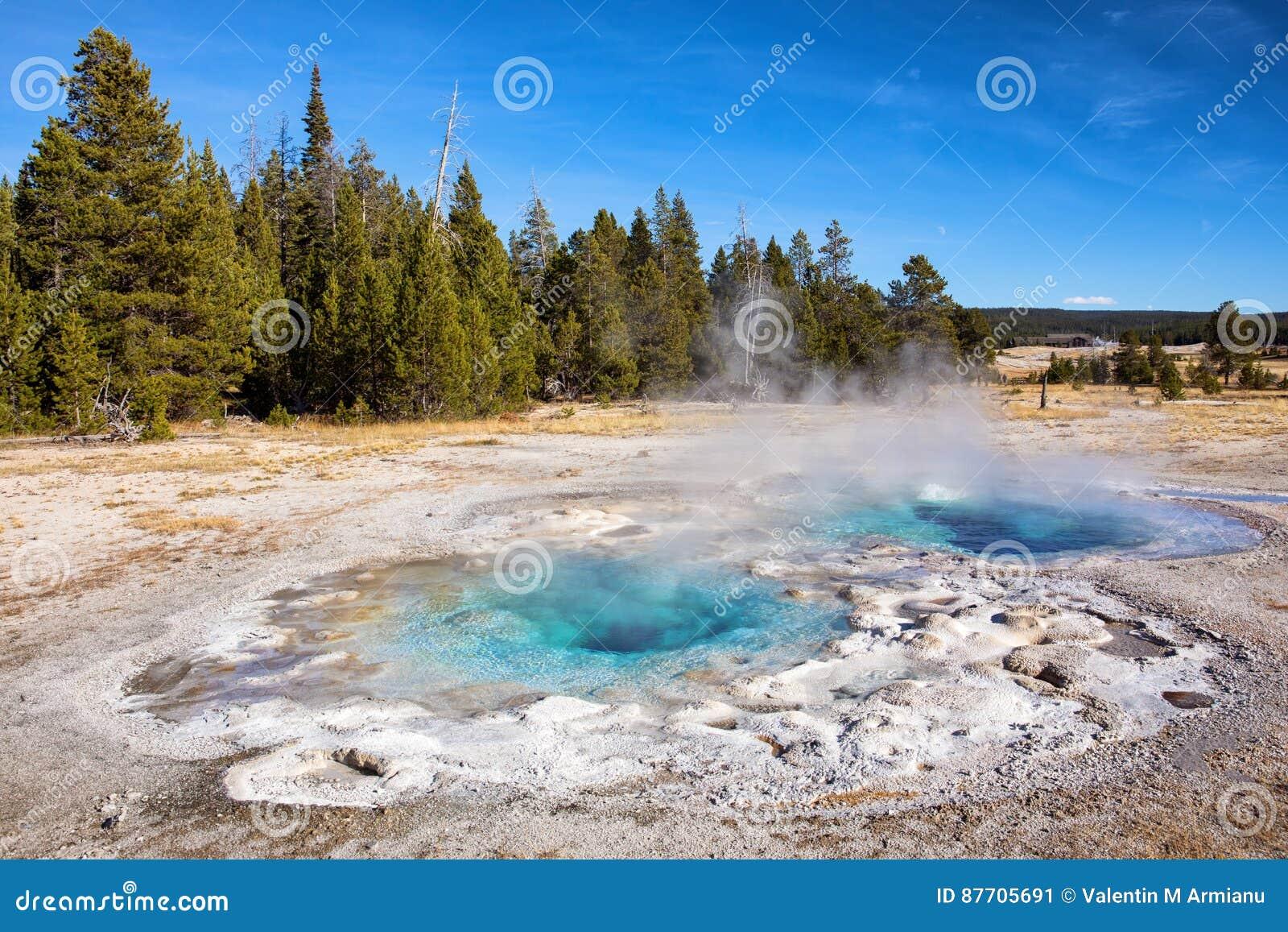 Activité géothermique de Yellowstone