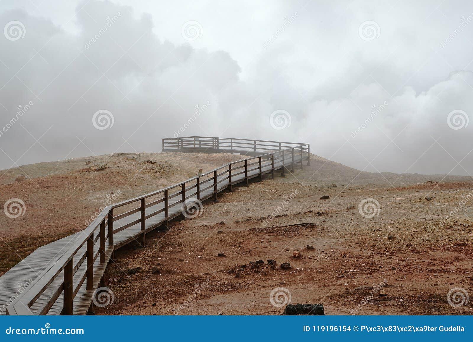 Activité géothermique en Islande