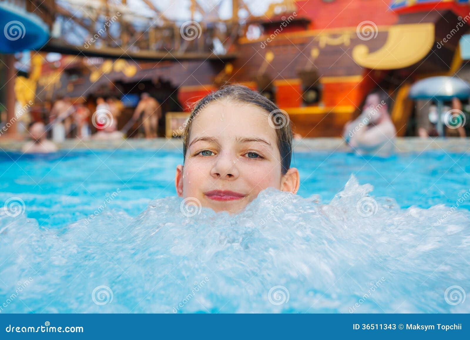 Activités sur la piscine