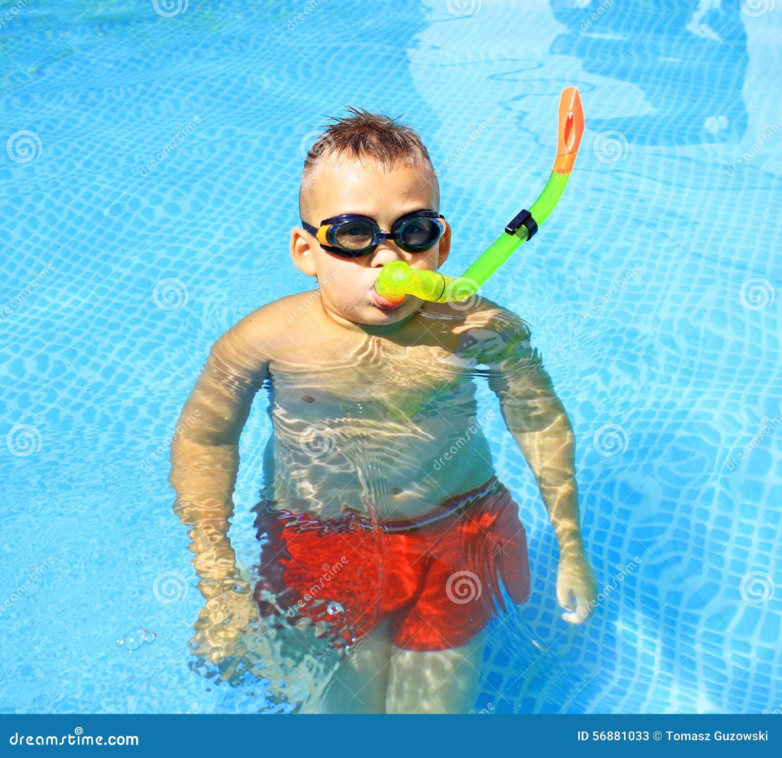 Activiteiten op de pool