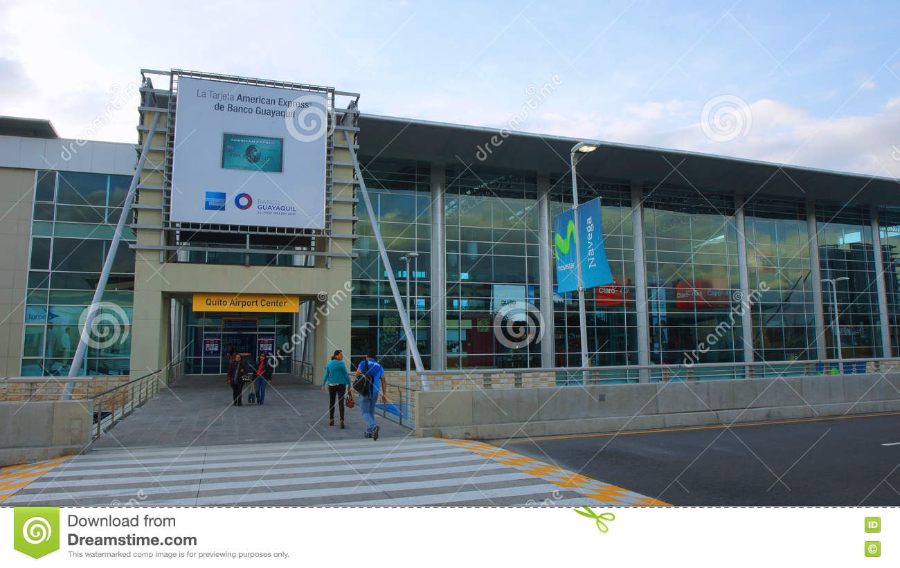 Daily Activity In The Mariscal Sucre International Airport Of The