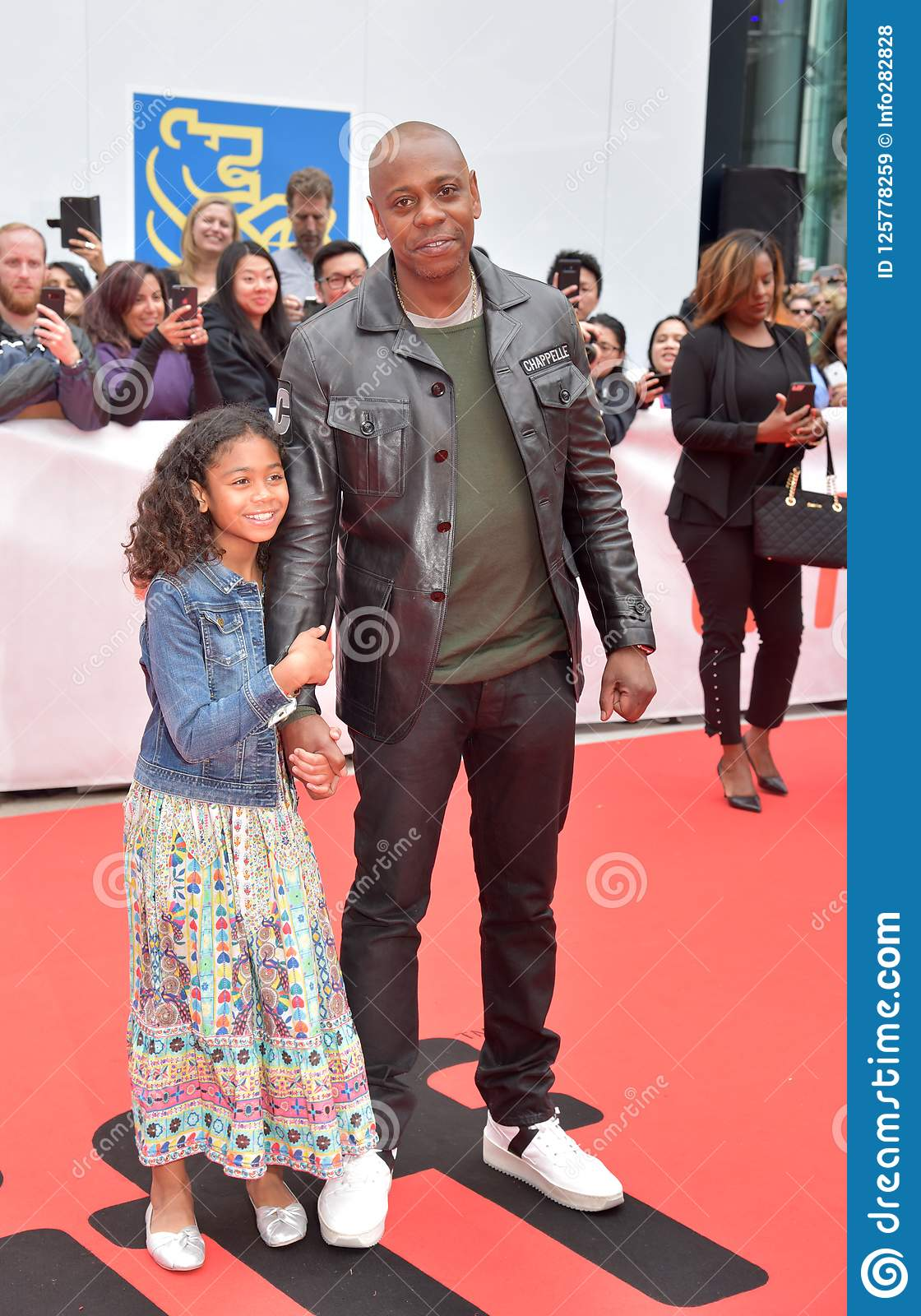 dave chappelle and his daughter at premiere of a star is born at toronto international film festival 2018 editorial stock image image of born lady 125778259 https www dreamstime com actor comedian dave chappelle premiere star born toronto international film festival roy thomson hall talent films image125778259