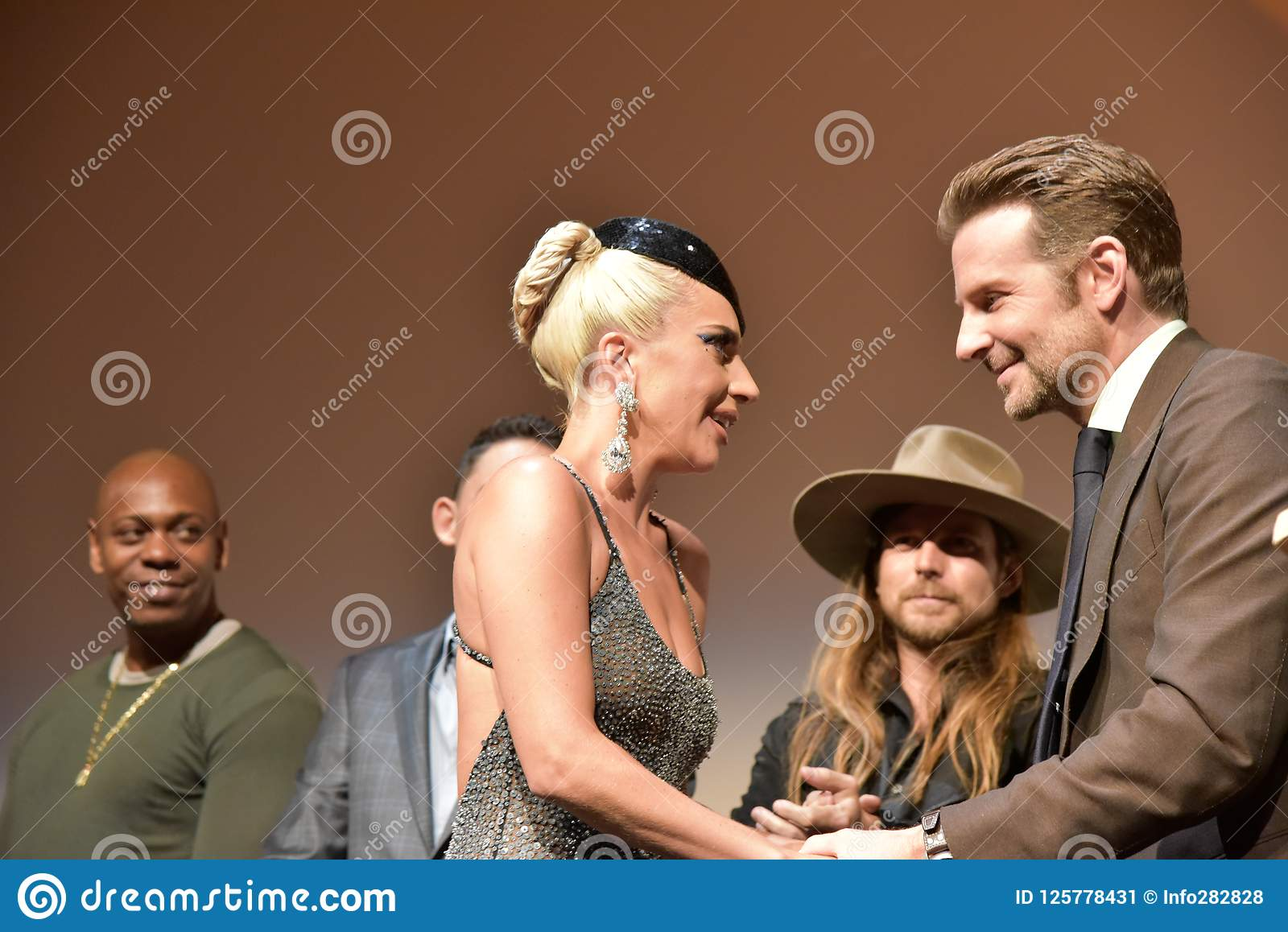 Bradley Cooper And Lady Gaga At Premiere Of A Star Is Born