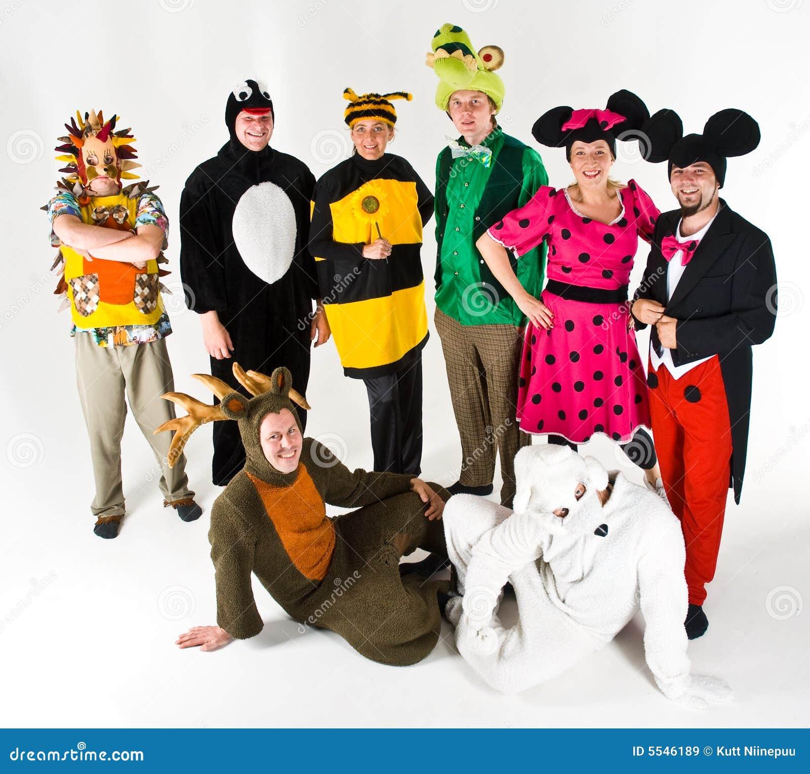 Actoren in Kostuum