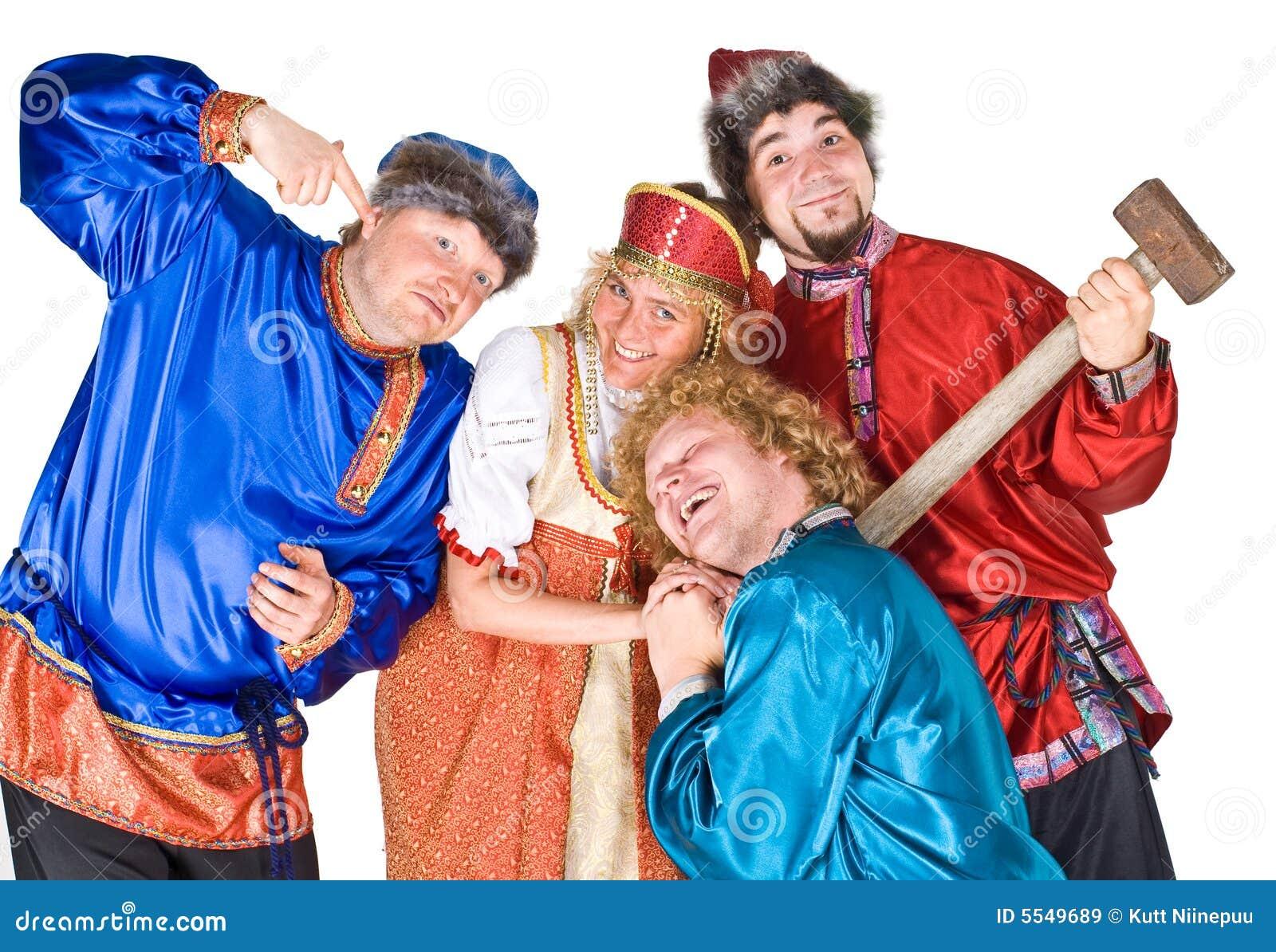 Actoren in Russische folklore