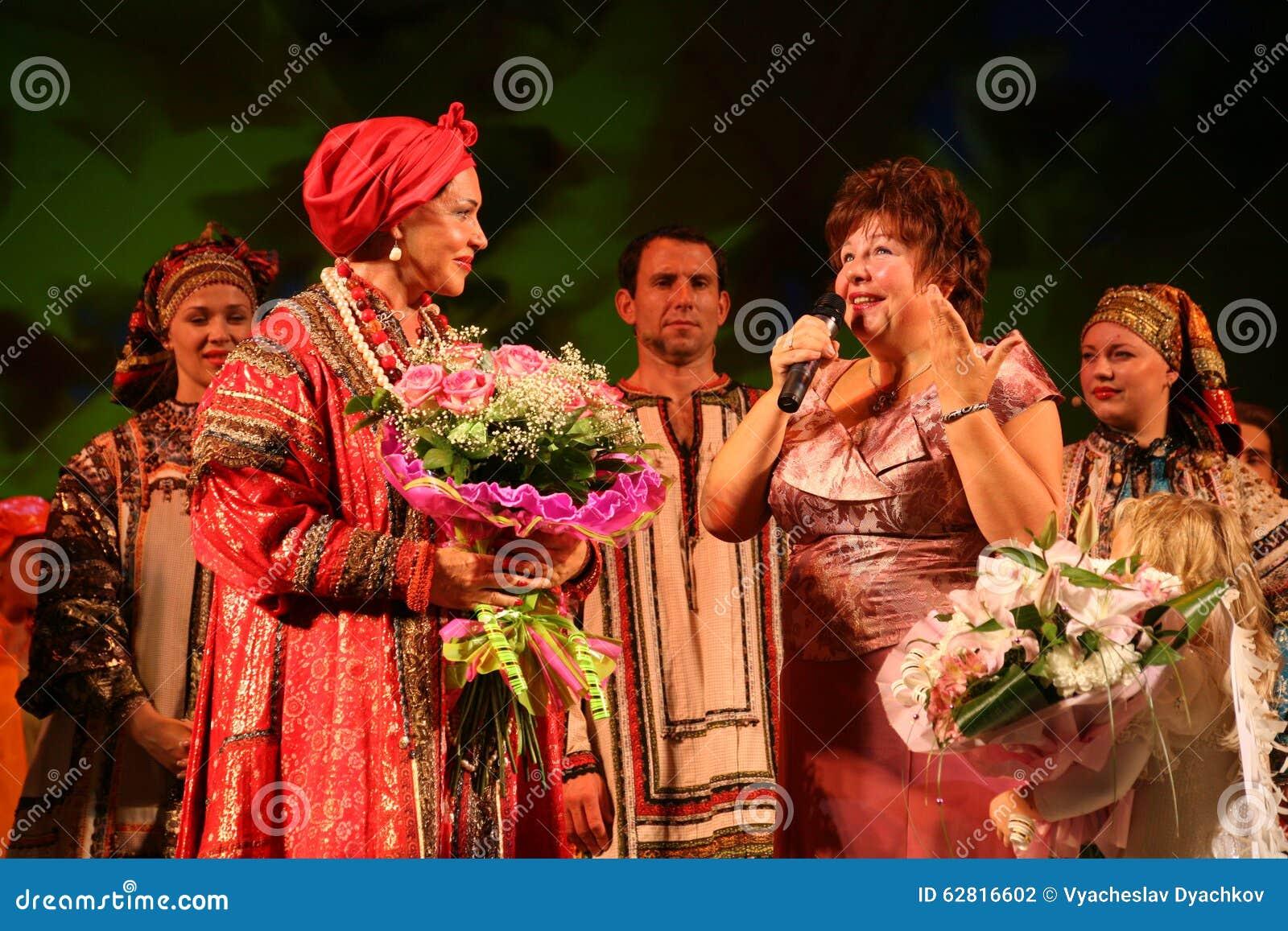 Nadezhda Babkina took part in a charity event 11.05.2011