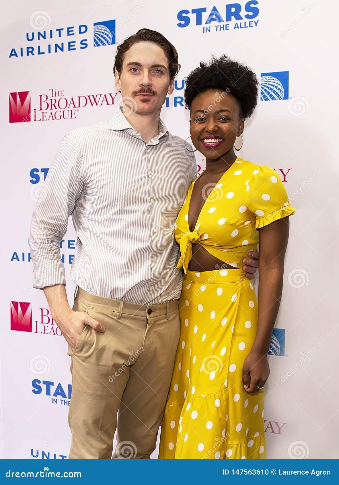 Zach Hess & Aisha Jackson at 2019 Stars in the Alley