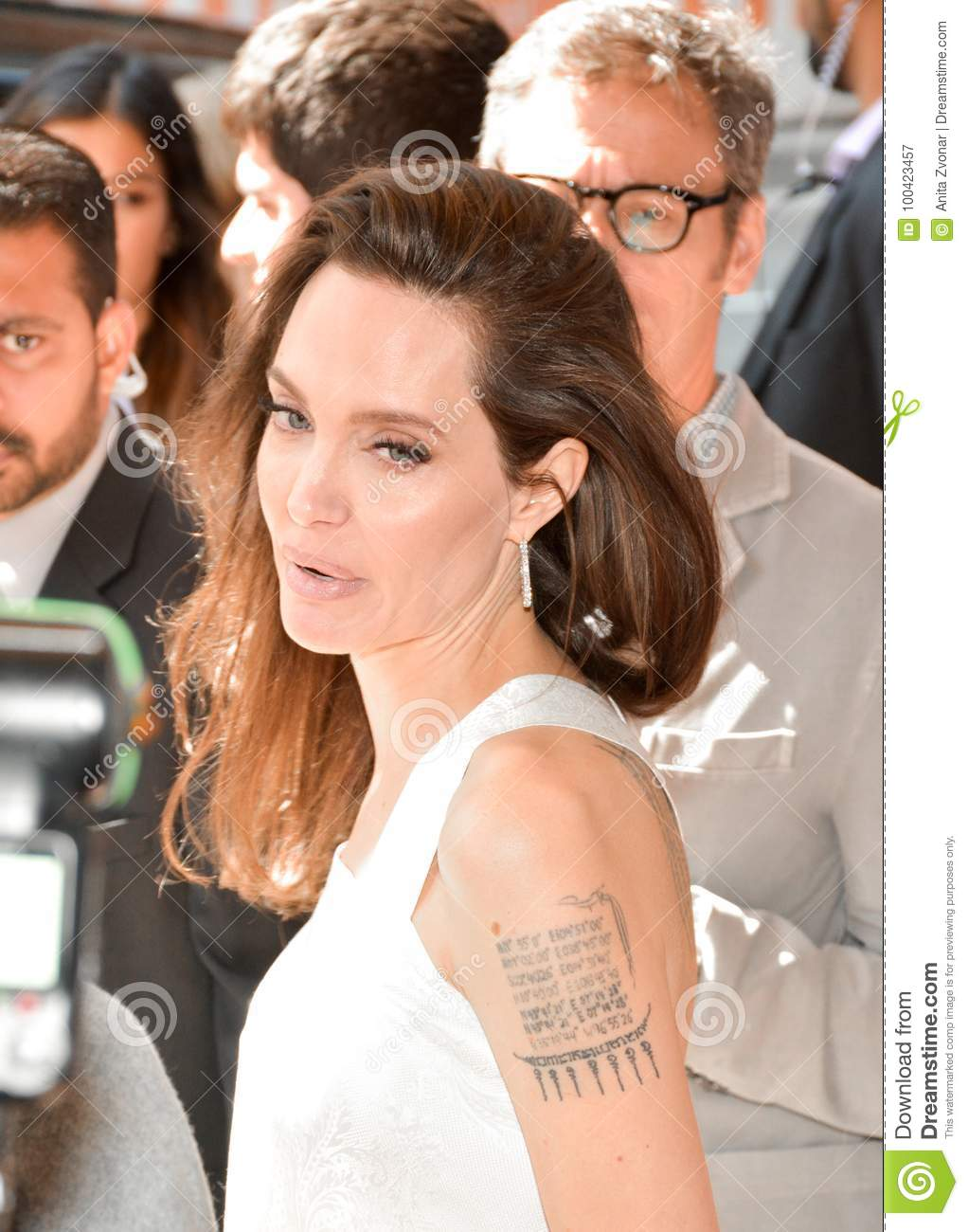 Actress Angelina Jolie at Premiere of `The Breadwinner` for TIFF17