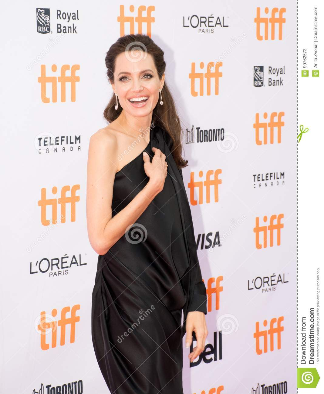 Angelina Jolie at World Premiere Of Netflix`s Film`s `First They Killed My Father` During The Toronto International Film Festival