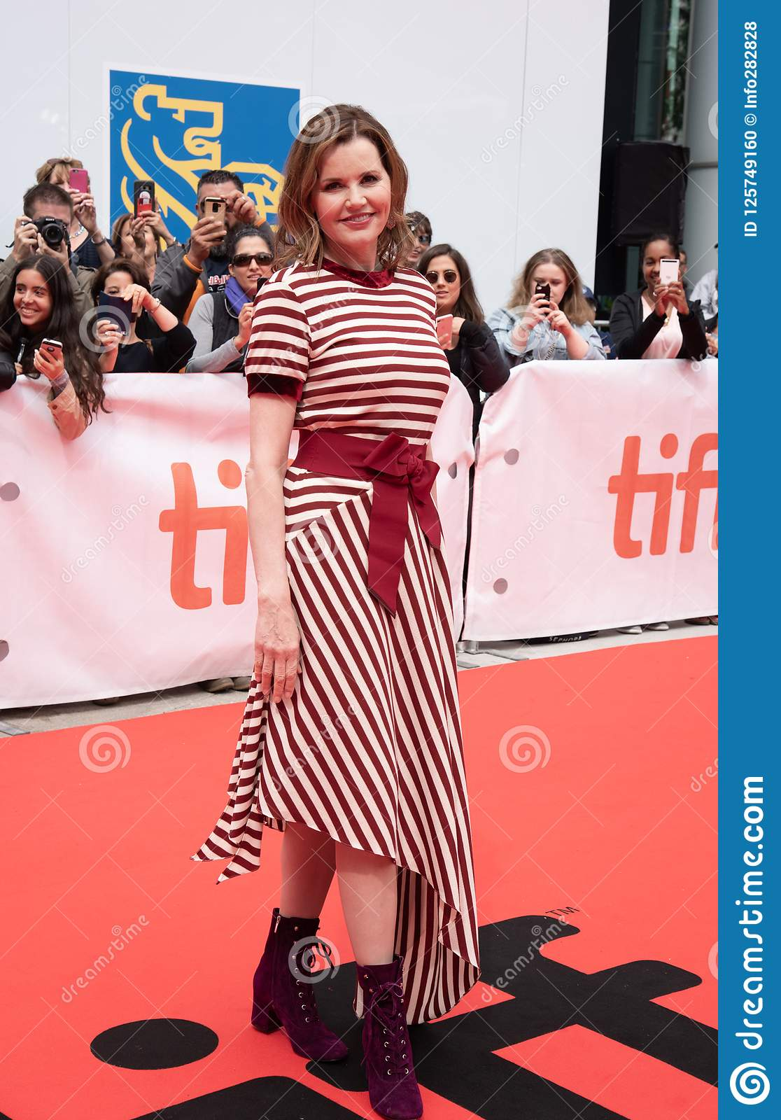 Actress Geena Davis at premiere of `This Changes Everything` at tiff2018
