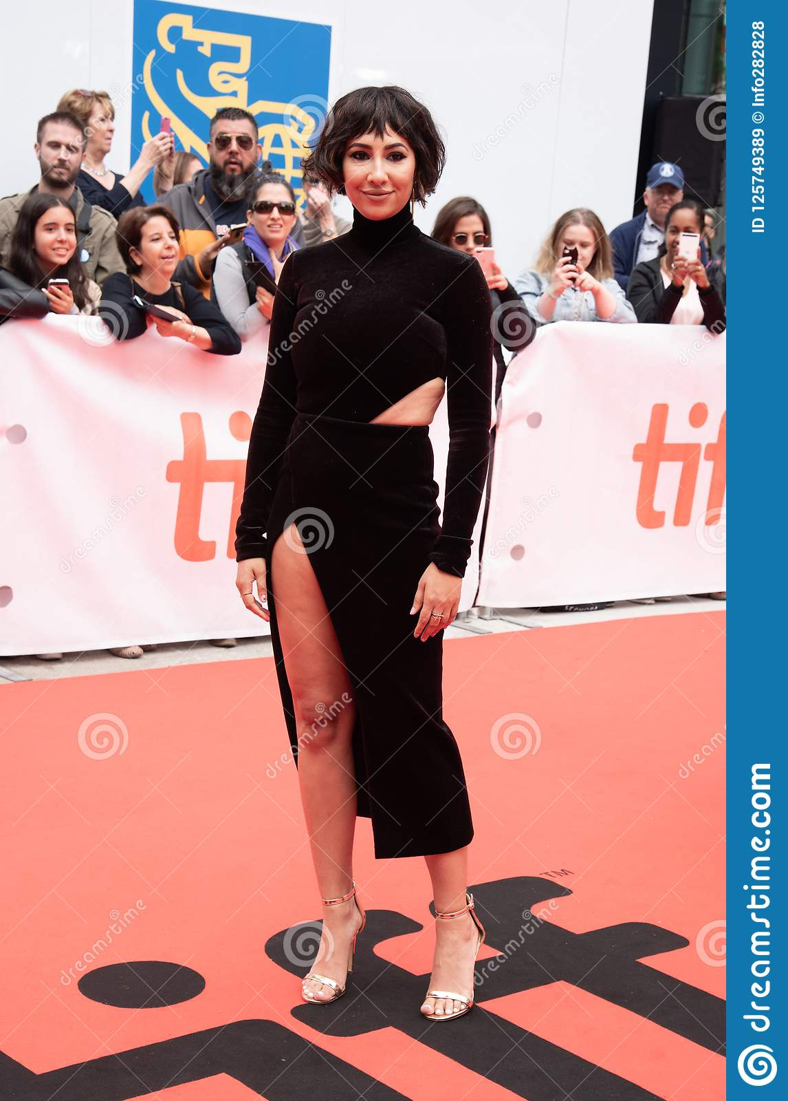 Jackie Cruz at premiere of `This Changes Everything` at tiff2018