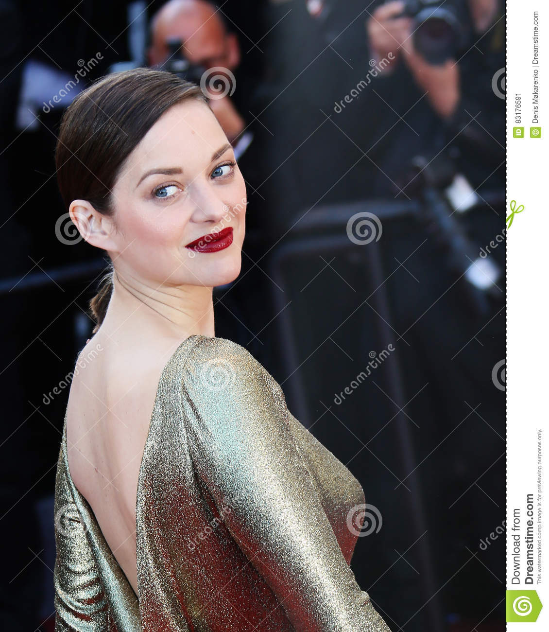 Actress Marion Cotillard Leaves The From The Land Of The