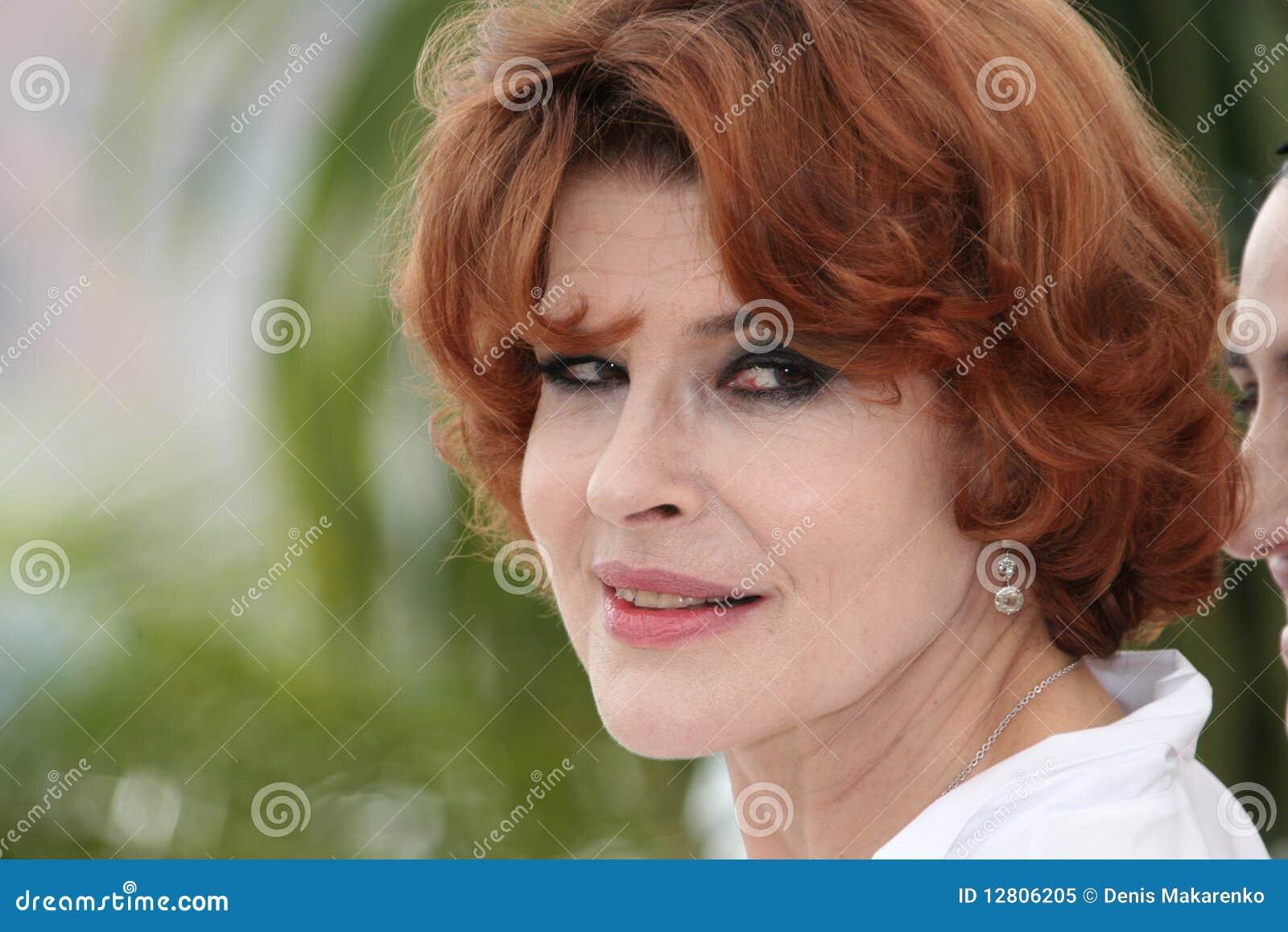 Actriz Fanny Ardant