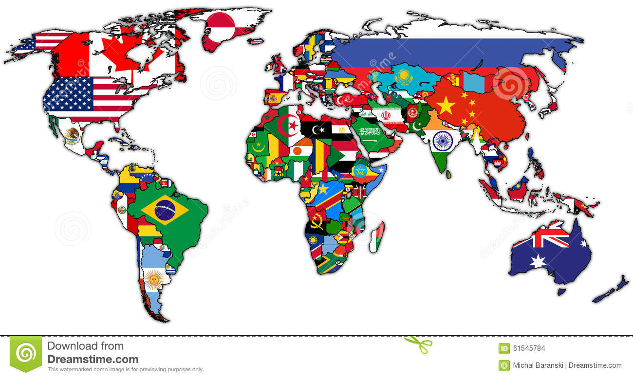 Actual world map stock illustration illustration of emblem 61545784 actual world map gumiabroncs