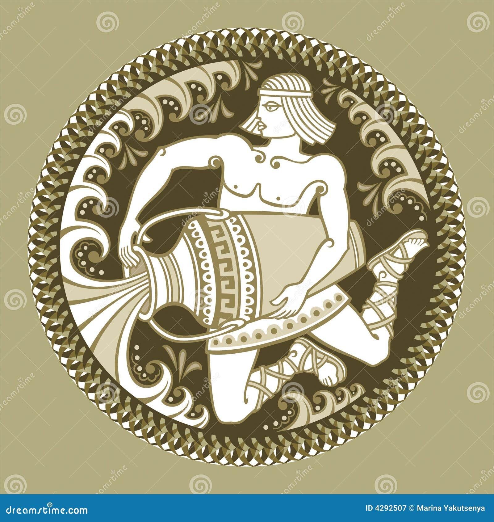 Acuario, muestras del zodiaco