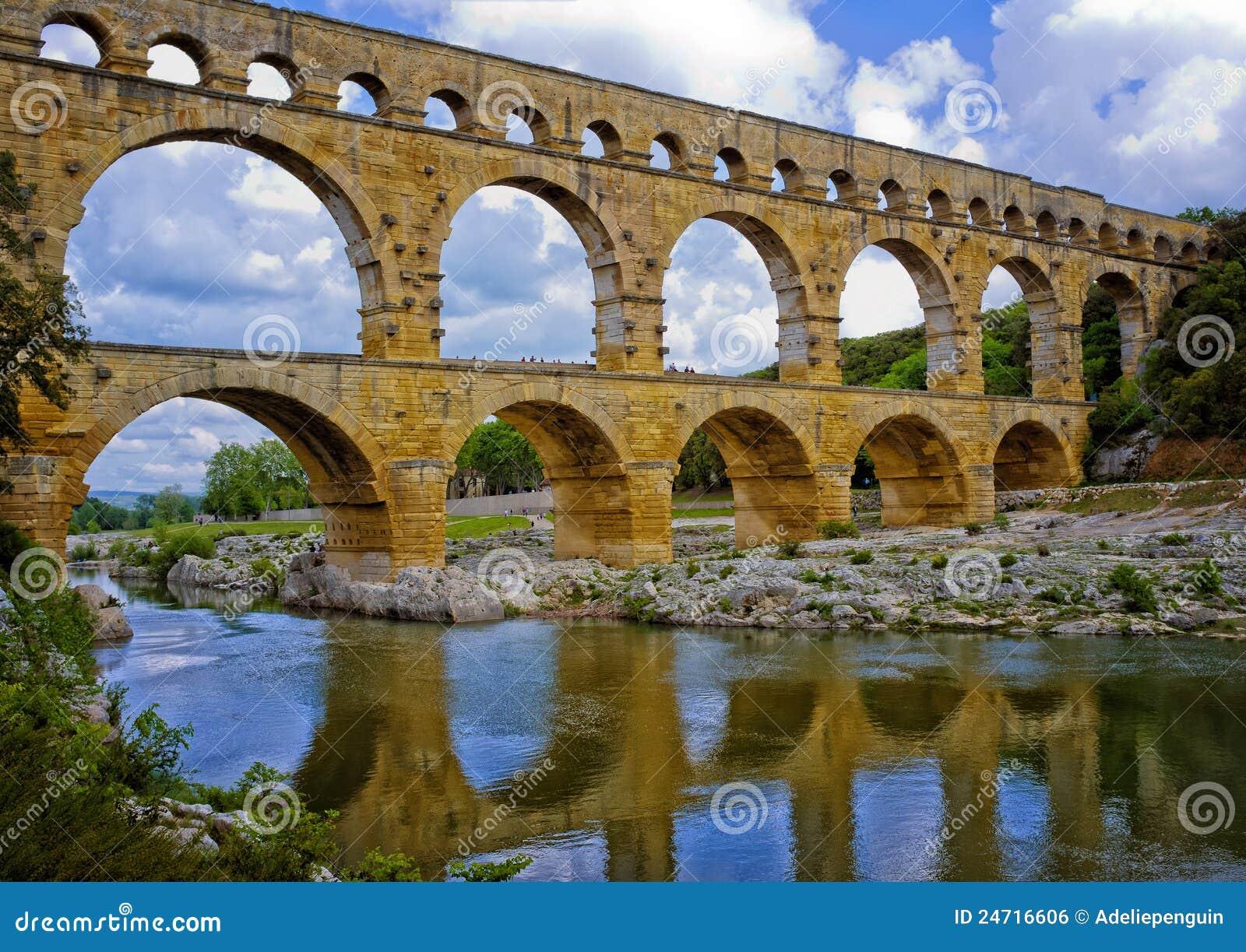 Acueducto antiguo, Provence Francia