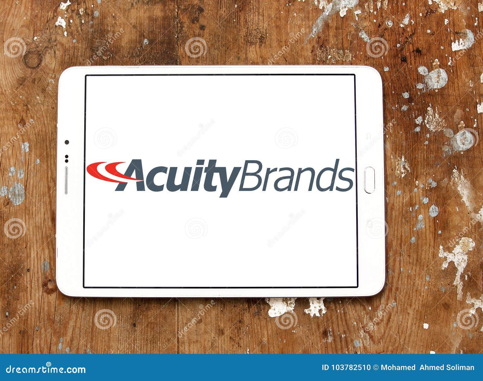 A acuidade marca o logotipo
