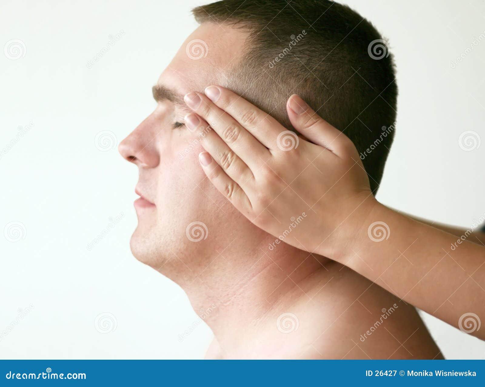 Acupressure - testa