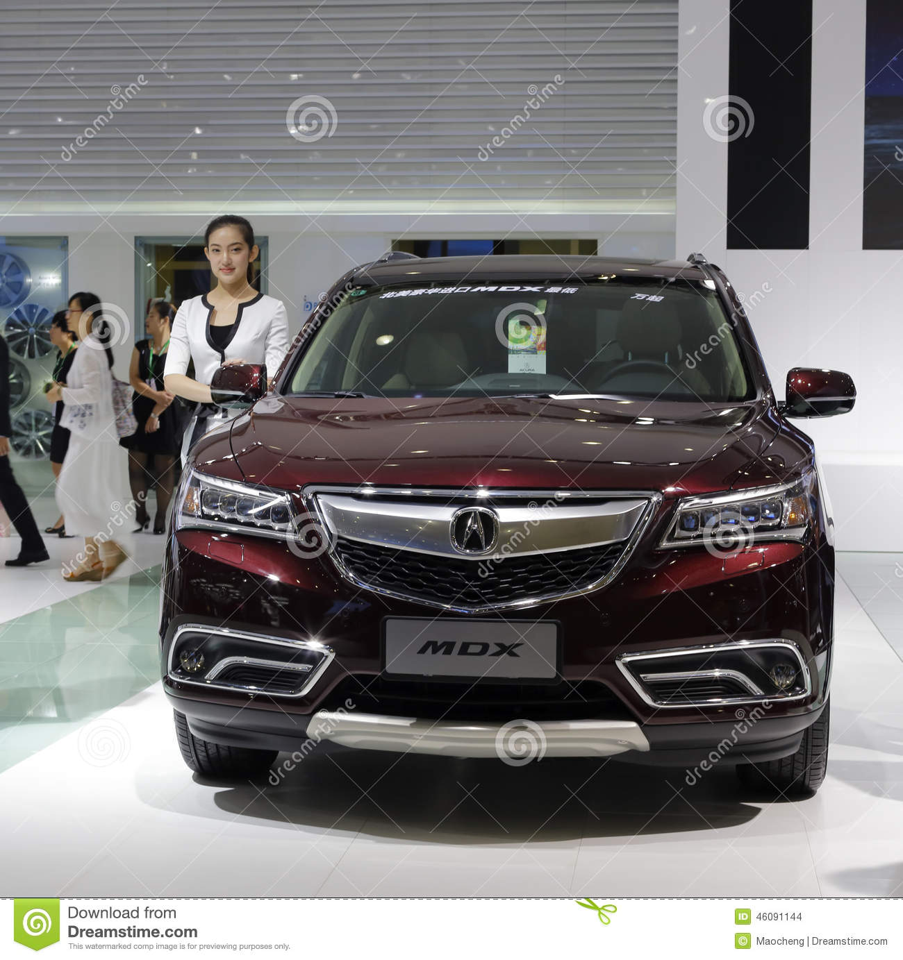 Acura Mdx Car Editorial Stock Image. Image Of Wheel